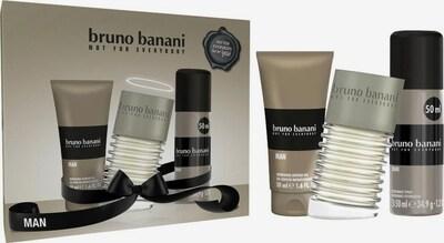BRUNO BANANI Geschenk-Set in beige / braun, Produktansicht