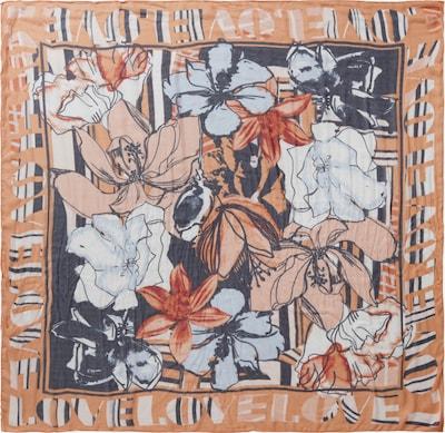 Betty Barclay Tuch mit Aufdruck in dunkelblau / rosé, Produktansicht
