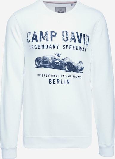 CAMP DAVID Sweatshirt in weiß, Produktansicht
