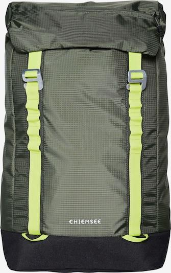 CHIEMSEE Rucksack in oliv / schwarz, Produktansicht