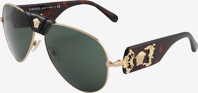 VERSACE Sonnenbrille in braun / gold, Produktansicht