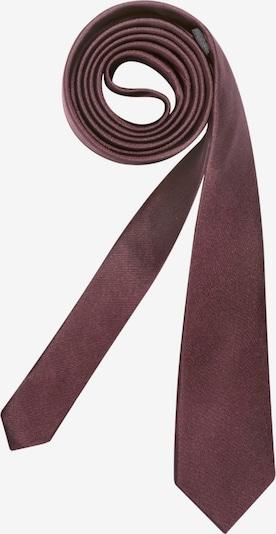 SEIDENSTICKER Krawatte ' Slim ' in blutrot, Produktansicht