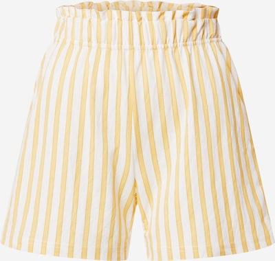 Gina Tricot Pantalon 'Kathy' en jaune / blanc, Vue avec produit