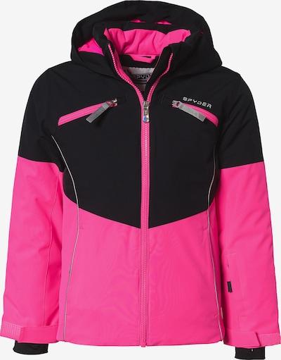 SPYDER Skijacke 'CONQUER' in pink / schwarz, Produktansicht