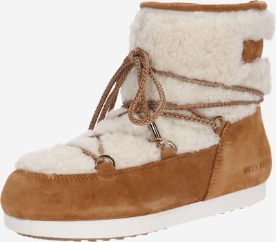MOON BOOT Boots in beige / braun, Produktansicht