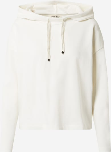 ABOUT YOU Sweat Hoodie 'Goldie' in beige / creme, Produktansicht