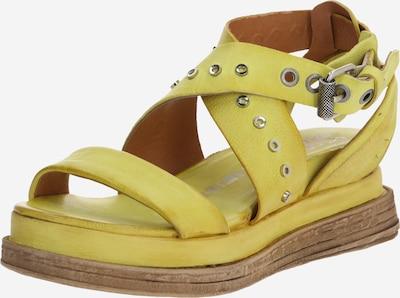 A.S.98 Sandale 'LAGOS 2.0' in gelb, Produktansicht