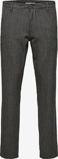 SELECTED HOMME Pantalon chino en gris chiné, Vue avec produit