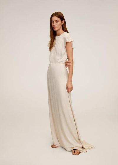 MANGO Abendkleid in beige, Modelansicht