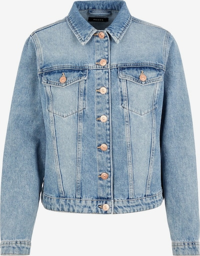 PIECES Jeansjacke in blau, Produktansicht