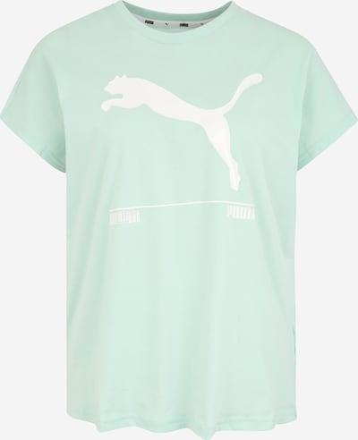 PUMA Funkcionalna majica 'Nu-tility' | meta / bela barva, Prikaz izdelka