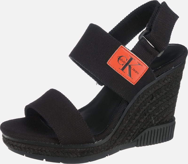 Calvin Klein Jeans Keilsandaletten  LACEY CANVAS