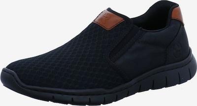 RIEKER Slip-Ons in Brown / Black, Item view