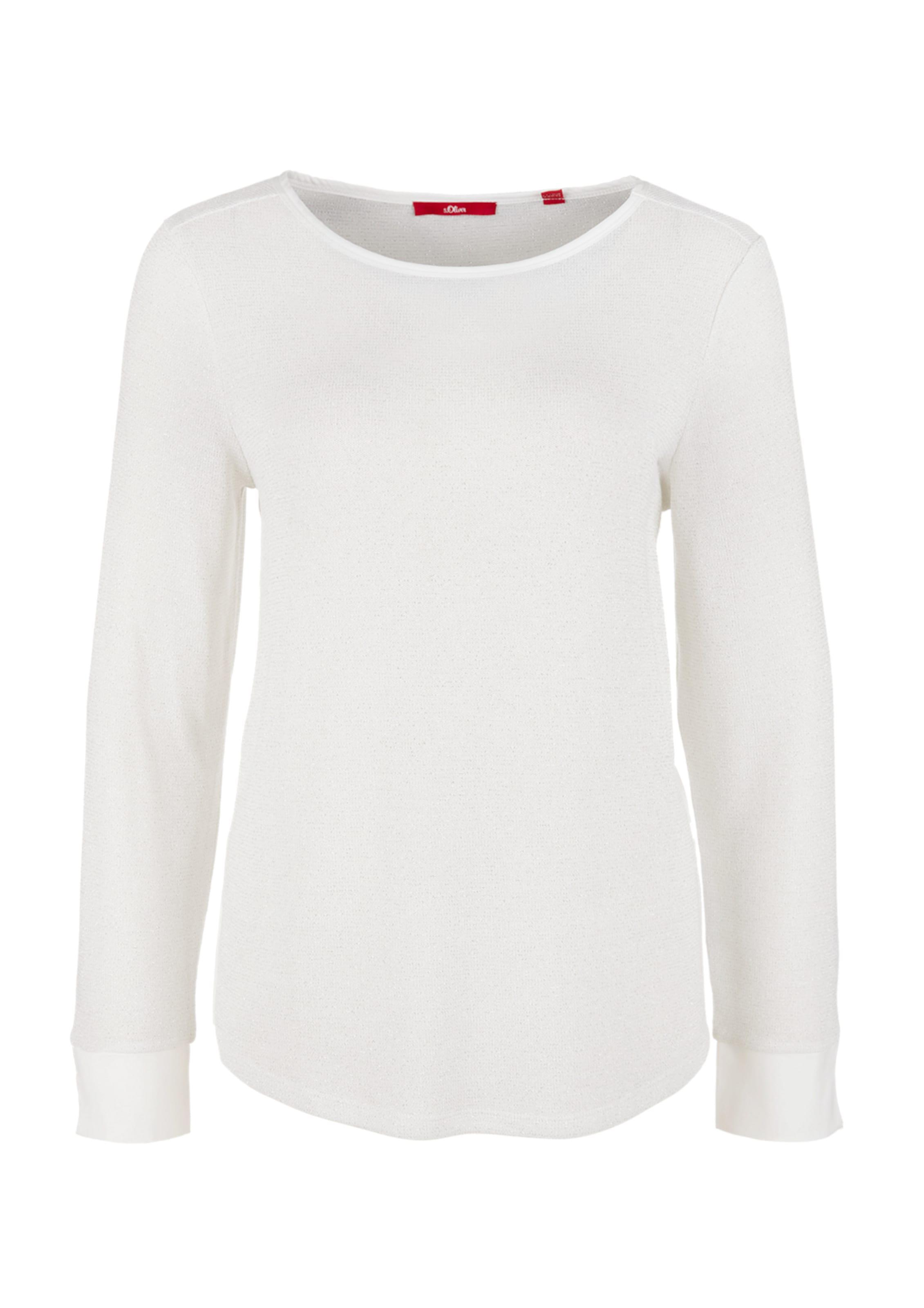 Red In Shirt oliver Label Weiß S bgYf76yv