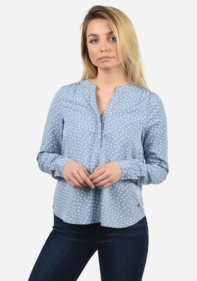 Blend She Blouse 'Amelia' in Blue / White, View model
