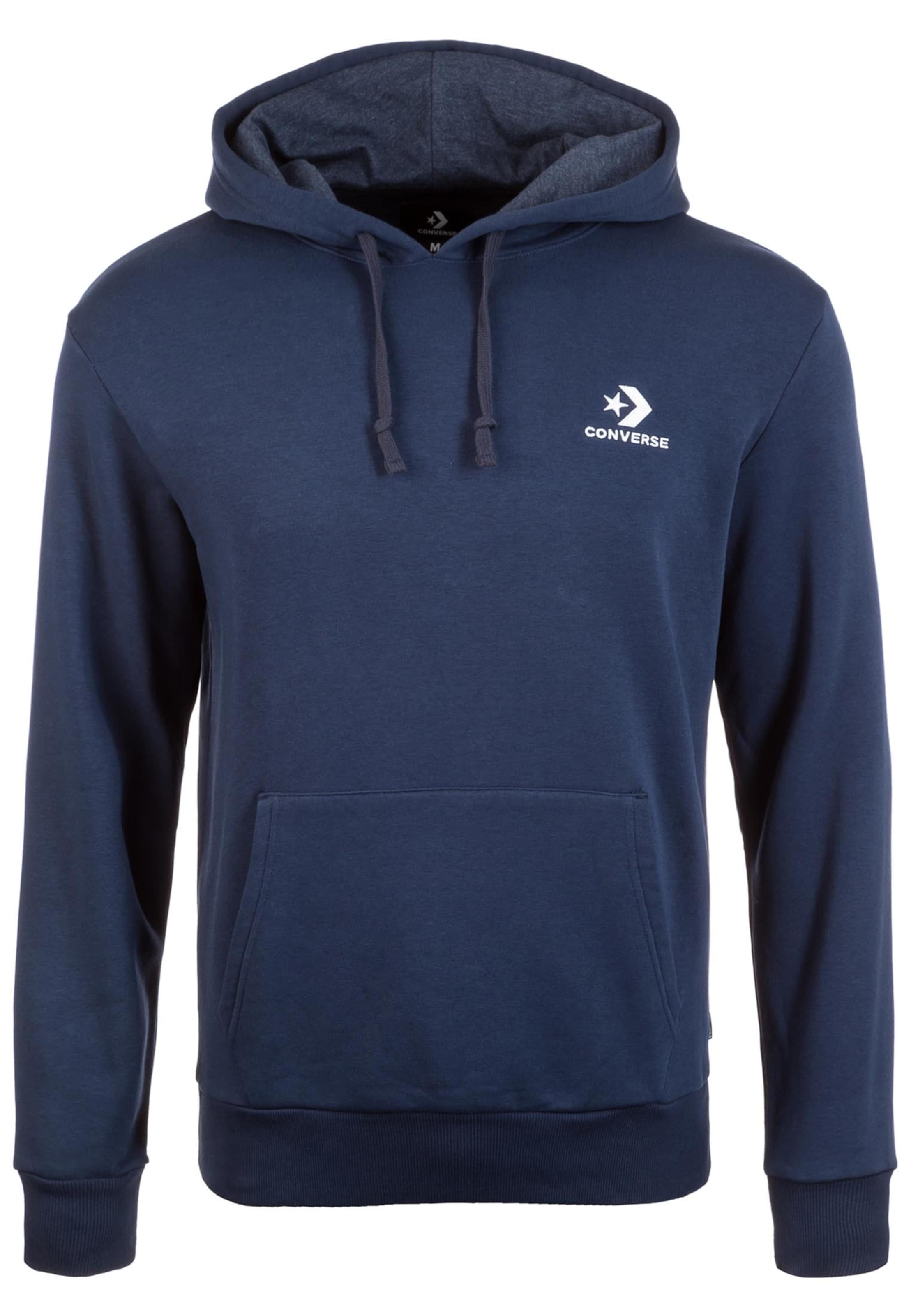 Converse shirt Chevron Sweat Bleu Emb' 'star En v7gIbf6yY