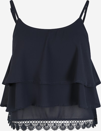 OBJECT (Petite) Top 'Janna' in de kleur Blauw / Nachtblauw, Productweergave