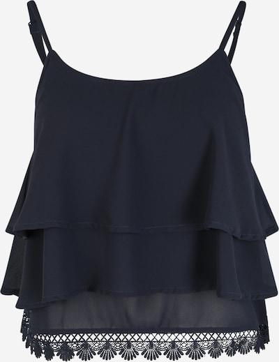 OBJECT (Petite) Top 'Janna' in blau / nachtblau, Produktansicht