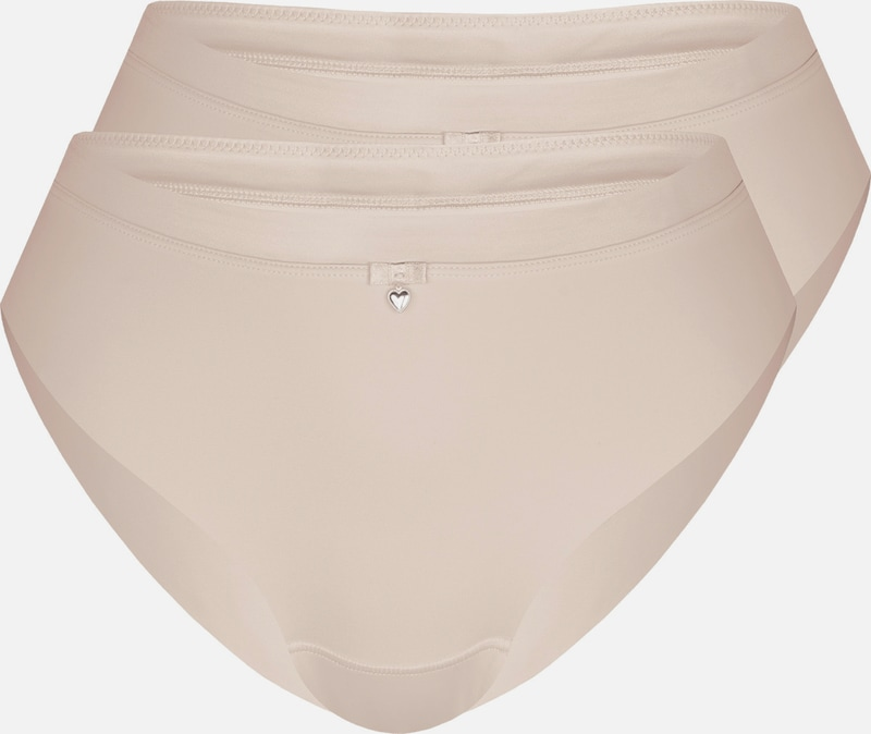 sassa Slip 'CLASSIC LOOK' 2er Pack in nude: Frontalansicht