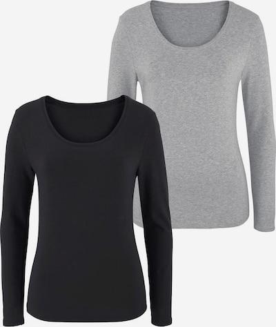 VIVANCE Koszulka w kolorze szary / czarnym, Podgląd produktu
