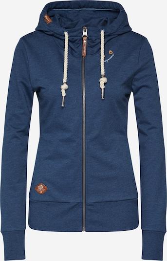 Ragwear Sweatjacke 'PAYA' in blue denim, Produktansicht