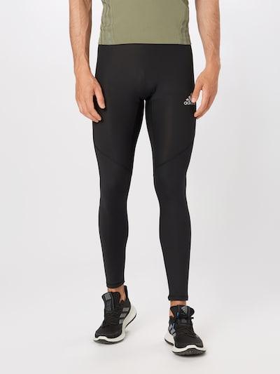 ADIDAS PERFORMANCE Sporthose 'Ask' in schwarz: Frontalansicht