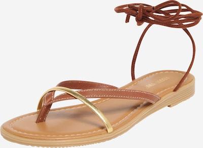 ABOUT YOU Sandale 'Line' in cognac, Produktansicht