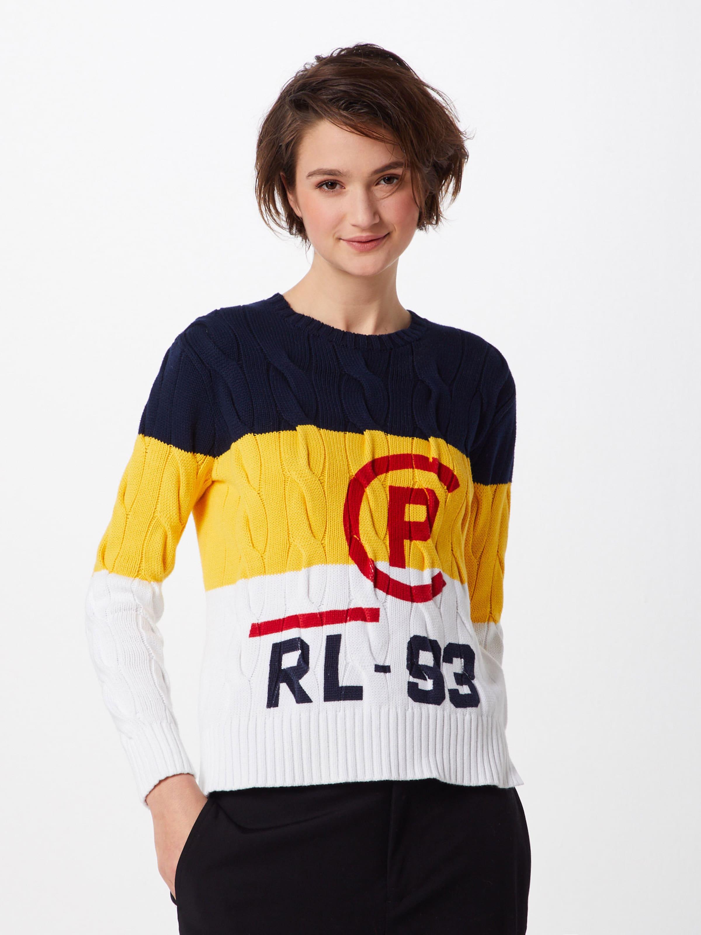 Lauren over Blanc MarineJaune En Bleu Rouge Pull Polo Ralph tsordQhCxB