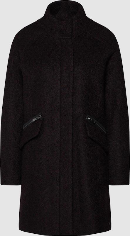 grauSTONE Mantel in schwarz  Neu in diesem Quartal