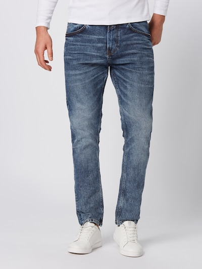TOM TAILOR DENIM Jeans 'Conroy' in de kleur Blauw denim: Vooraanzicht