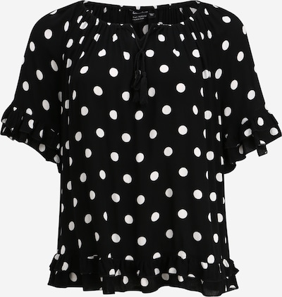 Dorothy Perkins Curve Shirt in de kleur Zwart / Wit, Productweergave
