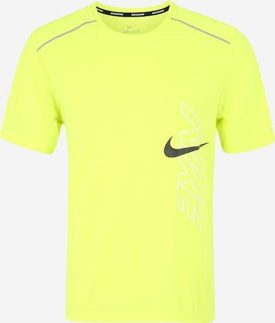 NIKE Shirt in neongelb / schwarz, Produktansicht