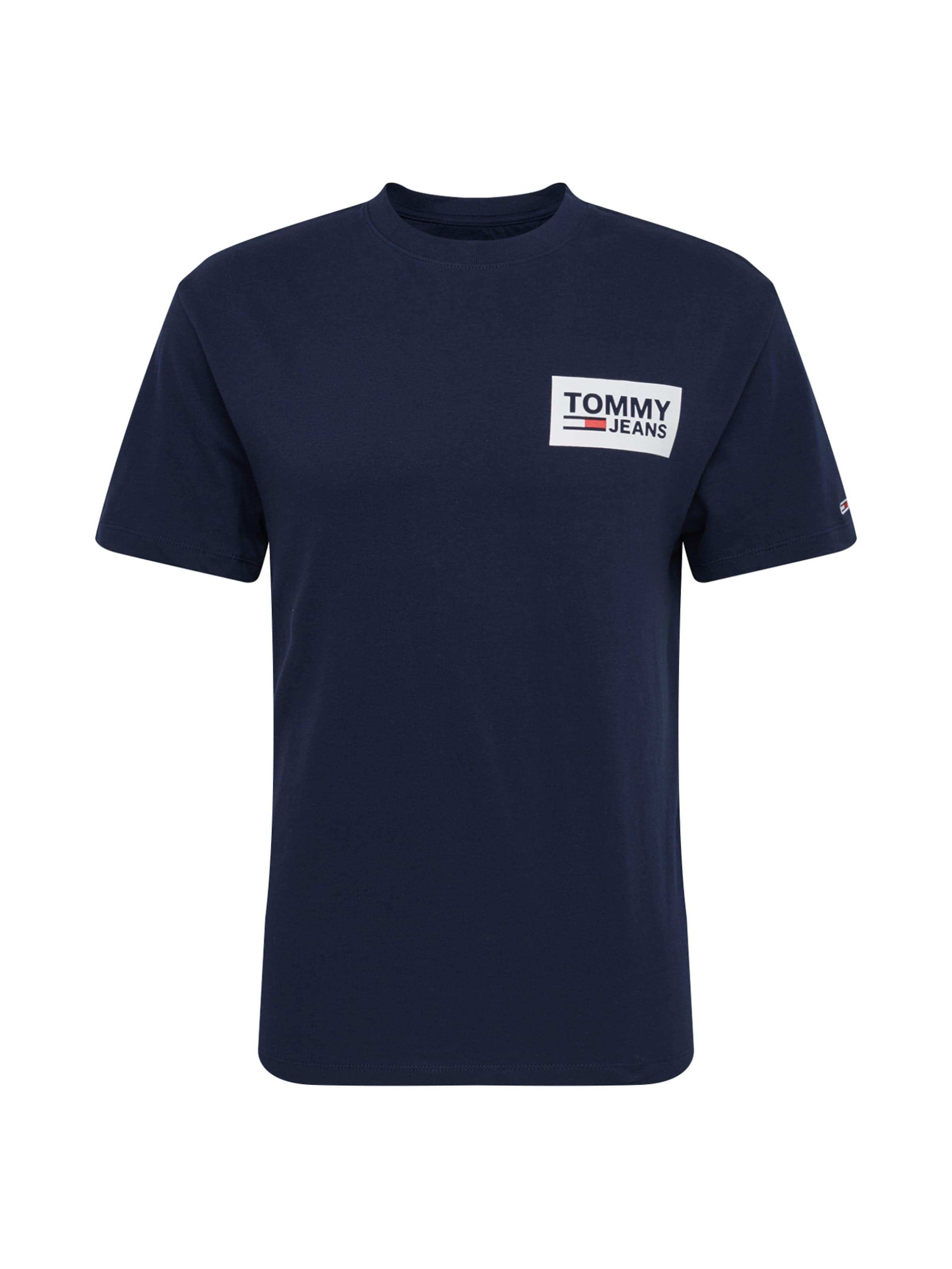 shirt DunkelblauWeiß T In Jeans Tommy 34AqjL5R