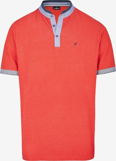 DANIEL HECHTER Poloshirt in blau / orange, Produktansicht