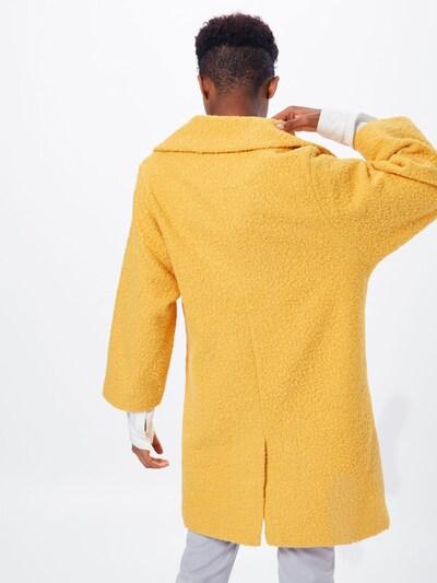 VILA Płaszcz przejściowy 'VIJESSI 7/8 SLEEVE COAT' w kolorze żółtym: Widok od tyłu