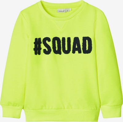 NAME IT Sweatshirt in neongelb, Produktansicht