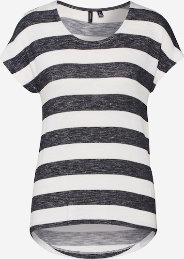 VERO MODA Shirt in schwarz / weiß, Produktansicht