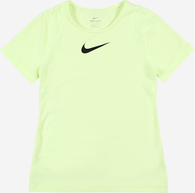 NIKE Functioneel shirt in de kleur Neongroen / Zwart, Productweergave