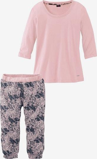 BUFFALO Pyjama in basaltgrau / rosa, Produktansicht