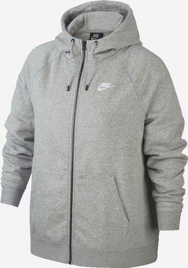 szürke melír Nike Sportswear Tréning dzseki, Termék nézet
