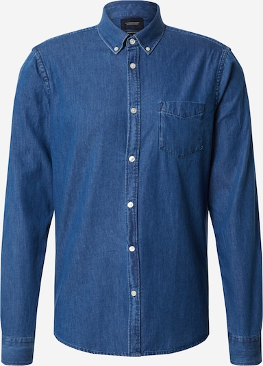 SCOTCH & SODA Hemd in blue denim, Produktansicht