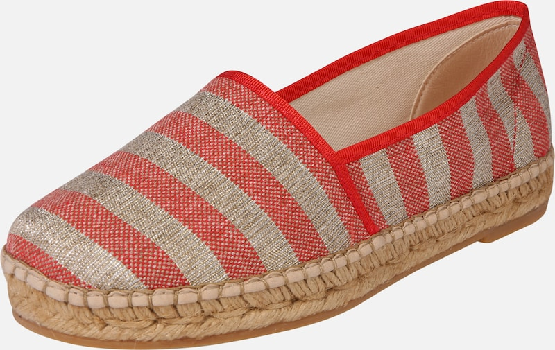 MACARENA Espadrilles 'MA103RM' in beige / rot, Produktansicht