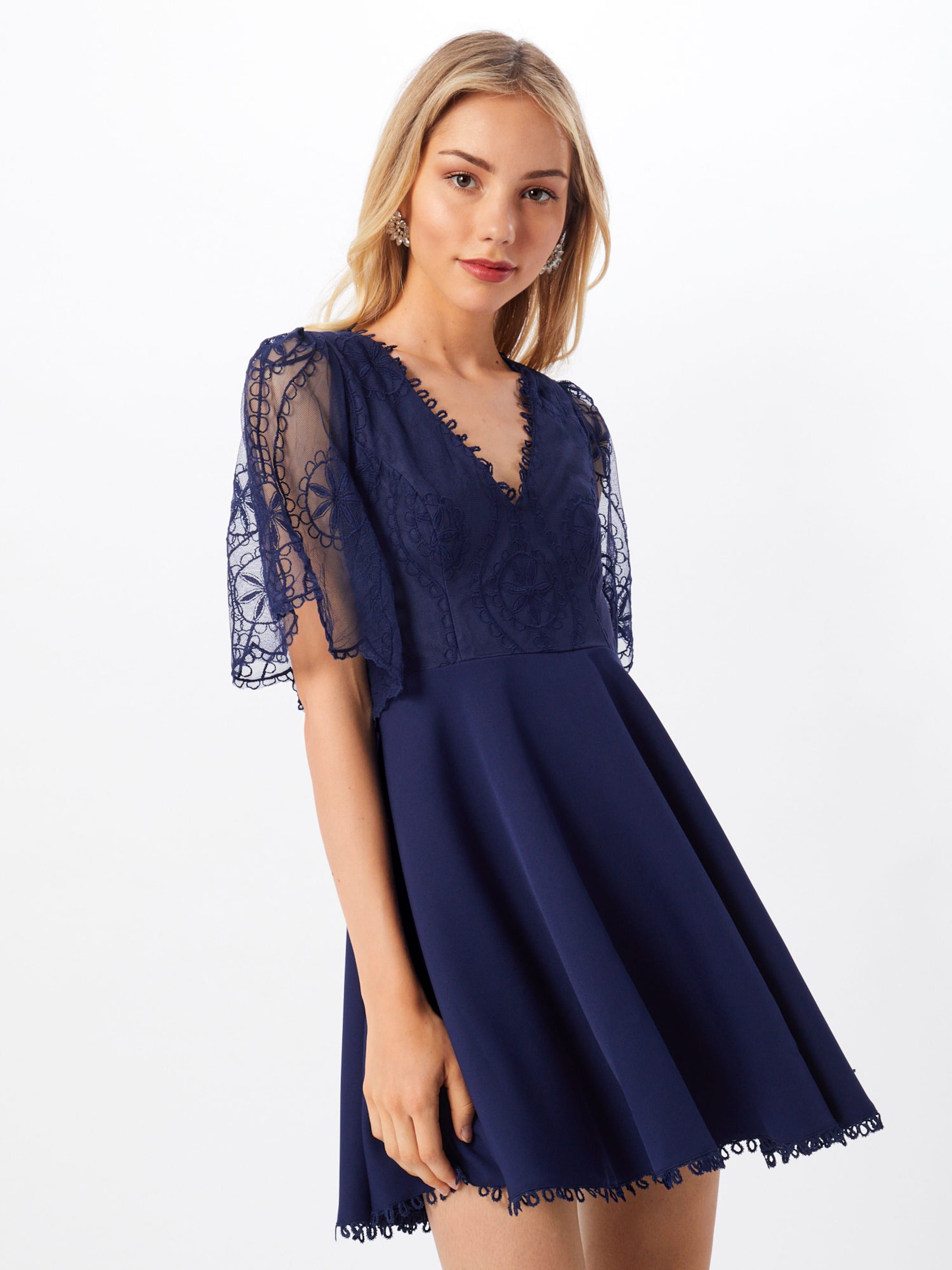 Triangle Kleid Love 'english Dress' In Navy Rose xoderWCB