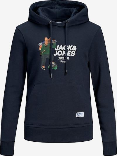 Jack & Jones Junior Sweatshirt in navy / weiß, Produktansicht
