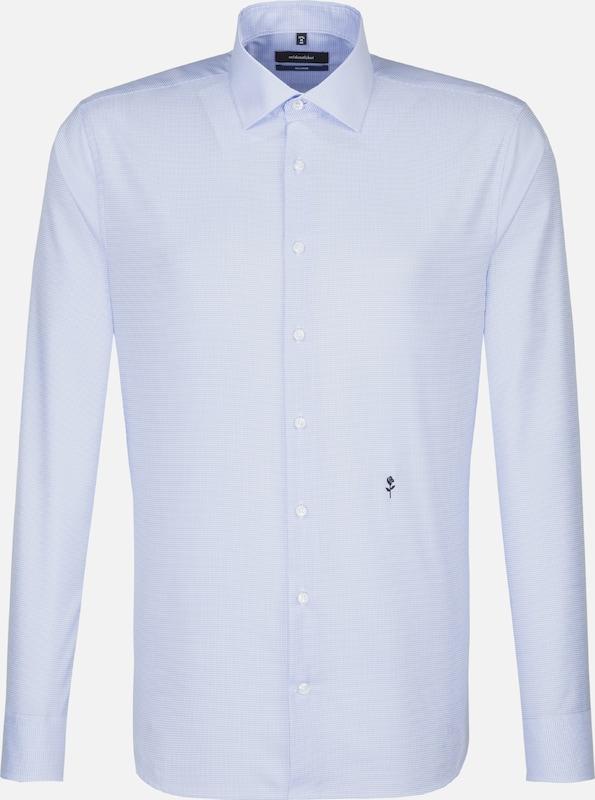 SEIDENSTICKER City-Hemd 'TailGoldt' in hellblau   weiß  Bequem und günstig