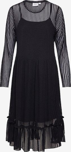 Rochie 'STRIPED LACE DRESS' SAINT TROPEZ pe negru, Vizualizare produs
