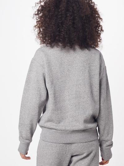 POLO RALPH LAUREN Bluzka sportowa 'LS PO-LONG SLEEVE-KNIT' w kolorze szarym: Widok od tyłu