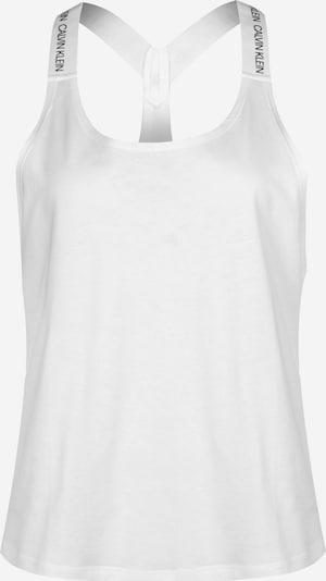 Calvin Klein Underwear Chemise de nuit en blanc, Vue avec produit