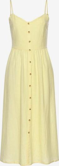 Vasarinė suknelė iš LASCANA, spalva – geltona, Prekių apžvalga