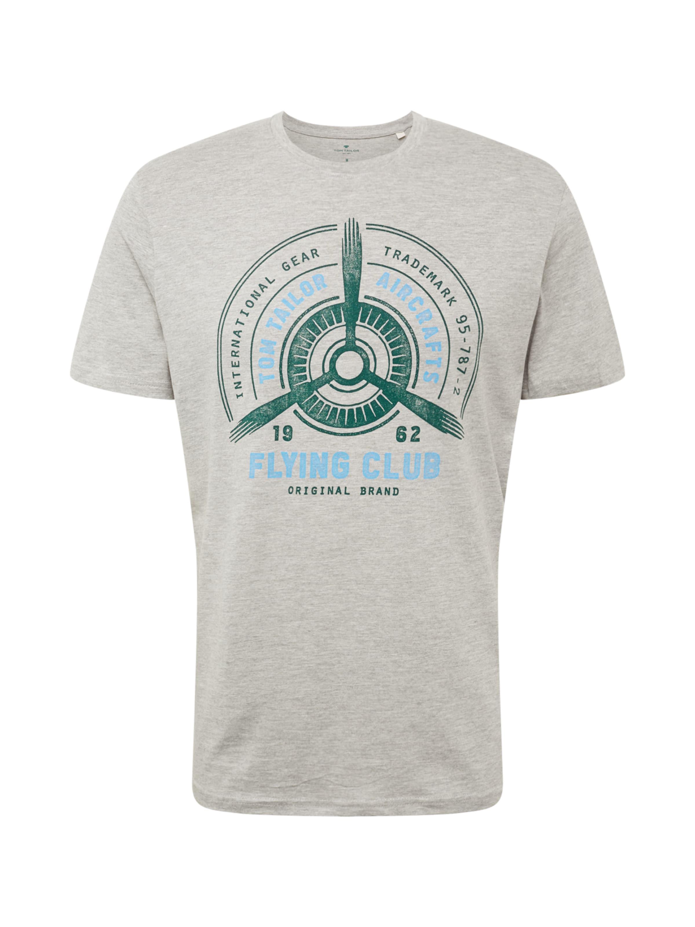 shirt En Tom Tailor T Gris nw80OPNkXZ